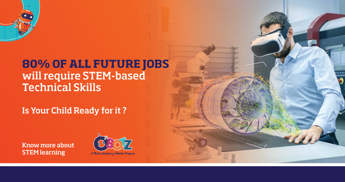 Is your child ready for the future jobs? O'Botz STEM Program