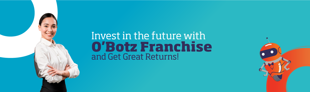 O'Botz robotics franchise is a top education franchise for children.