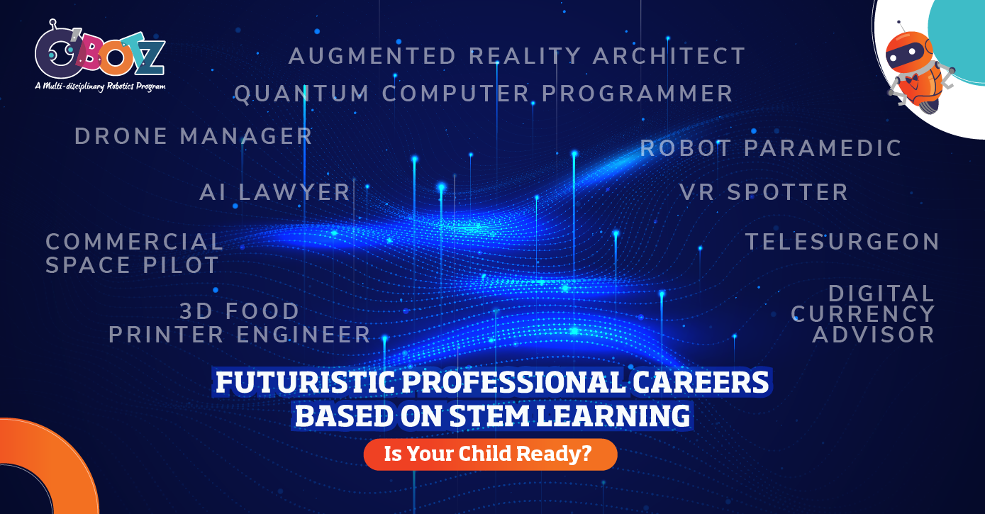 Is your child ready for futuristic STEM Careers? Explore here