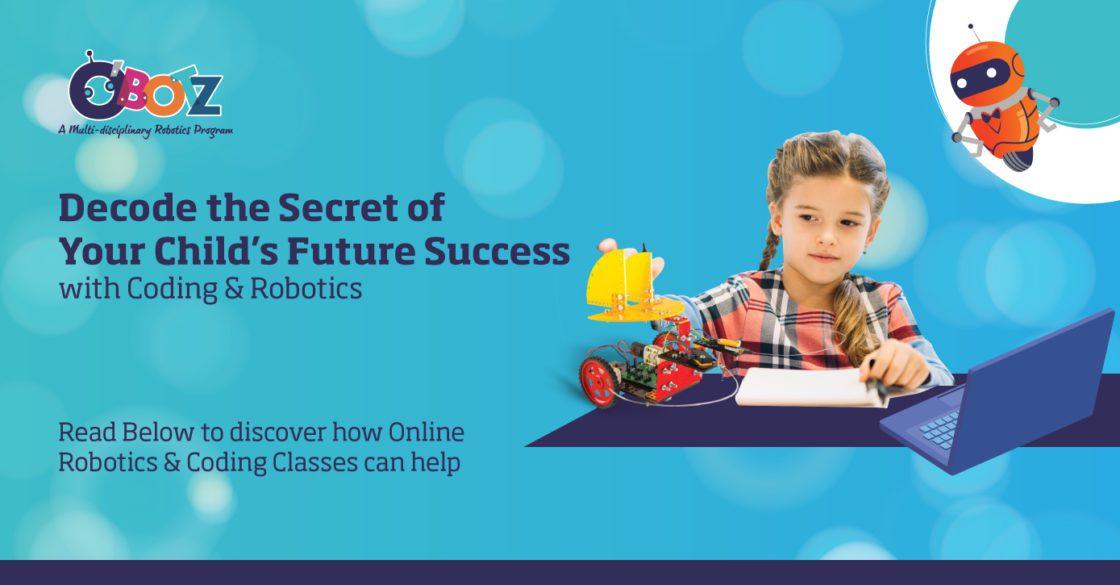 O'Botz offers Online Coding & Robotics Classes for kids